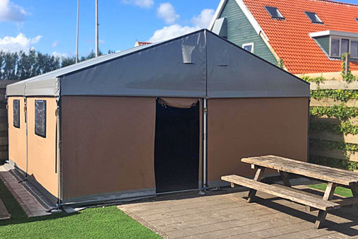 Tenthuisje Camping Appelhof